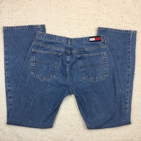 Vintage Tommy Hilfiger Jeans Straight Leg Med Wash